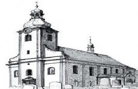 Maków szkic Kościoła