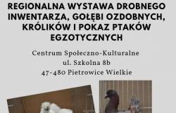 Regionalna wystawa drobnego inwentarza w Pietrowicach Wielkich.
