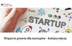 """""""Wsparcie prawne dla startupów"""" od PARP"""