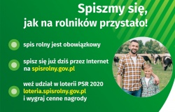 Informacja na temat sposobu realizacji Powszechnego Spisu Rolnego w 2020 r