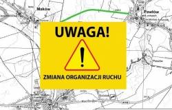 Zmiana organizacji ruchu pomiędzy miejscowościami Kornice i Pawłów