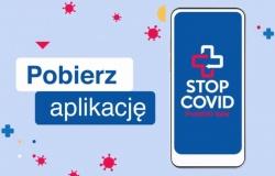 Aplikacja STOP COVID - Ściągnij, uruchom – dbaj o siebie i innych.