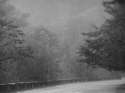 Ostrzezenie meteorologiczne nr 50 - intensywne opady