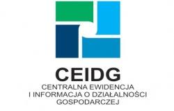 Komunikat dotyczący CEIDG